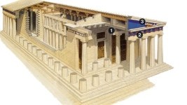 Parthenon model